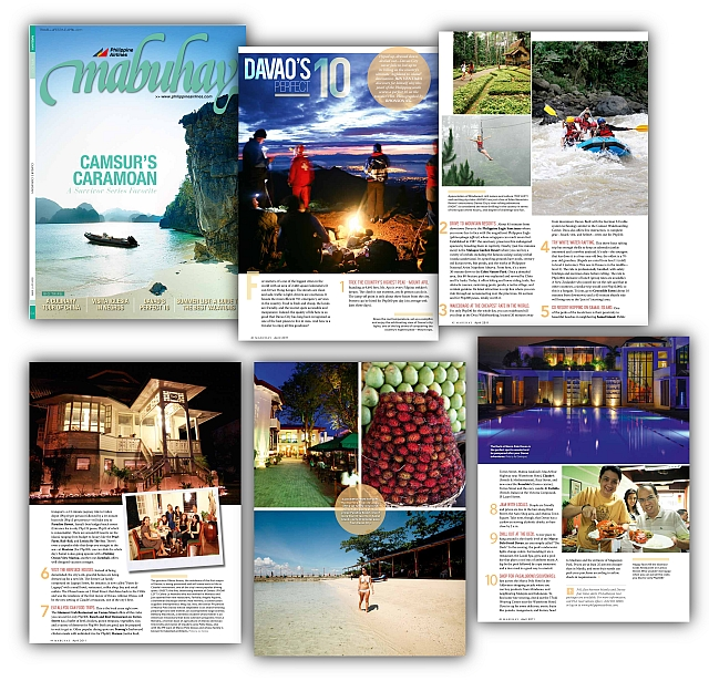 April 2011 Mabuhay Magazine Issue
