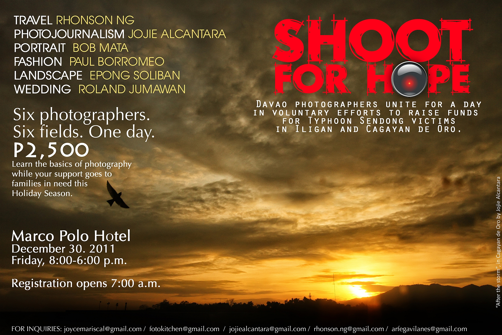 Davao workshop for Typhoon Sendong victims