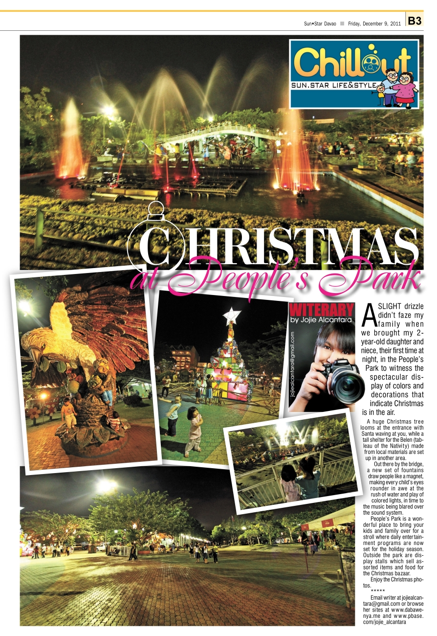 Dec 9 Christmas at People's Park by Jojie Alcantara