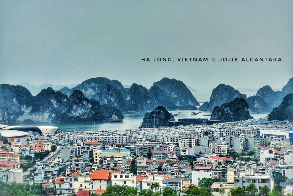 Ha Long city and Ha Long Bay backdrop © Jojie Alcantara