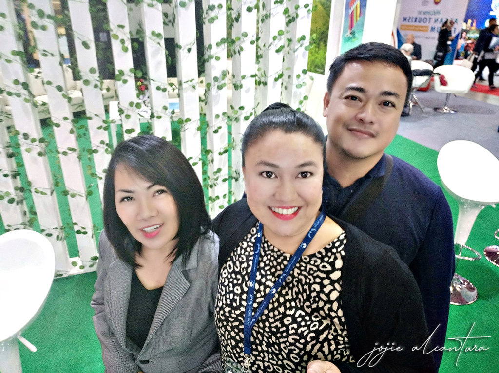 Jojie with Ian and Salome Villaflor